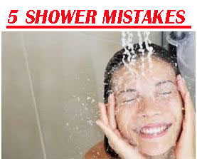 5 Shower Mistakes That Can Wreck Your Skin