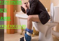 How constipation affects your body and what you can do