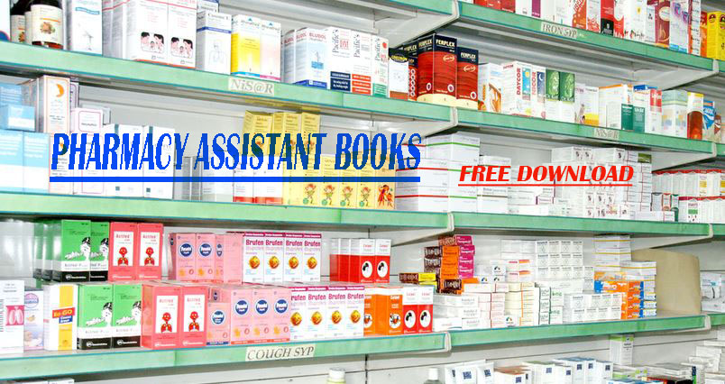Pharmacy Assistant books and Category B Notes in Urdu