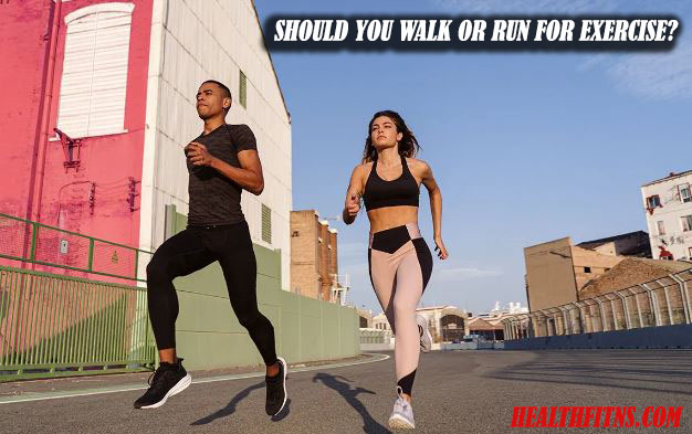 Should You Walk or Run for Exercise 1