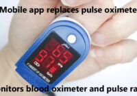 Mobile app replaces pulse oximeter; monitors blood oximeter and pulse rate copy
