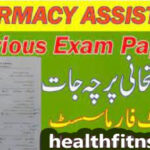 Pharmacy council b category Assistant Past old Papers pdf
