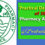 Practical Date Sheet of 38th Pharmacy Assistant 2021