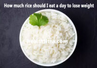 Tips to eat white rice and still lose weight
